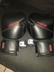 Gants de boxe Century + bandages Everlast