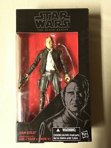 Star Wars black series Han Solo