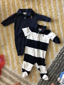 Polos overall 0-3 months