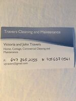 Travers cleaning and Maintenance