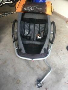 MEC double kid bike trailer