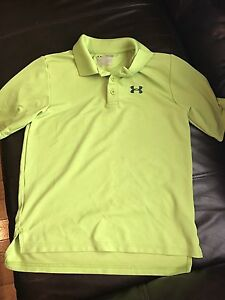 Youth med under armour golf shirt
