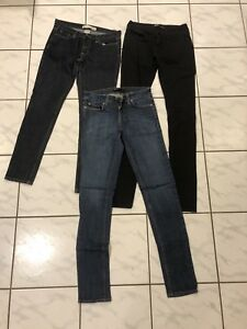 Brand Name Jeans Size 26-27 $5 per pair