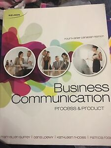 Business communication process and product  4th edition