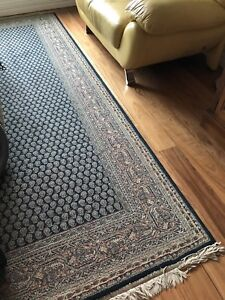 Carpet Hallway Runners and Matching Mat