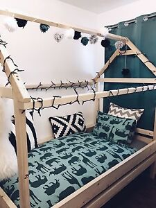 Custom made house bed for your little one! (: