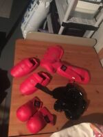 Martial arts sparring gear 40$