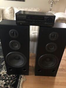 Technics Amp/Speaker Package