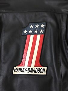 Harley-Davidson Easy Rider Motorcycle Leather Jacket Peter Fonda