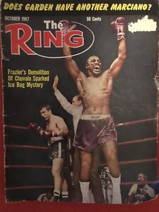 The Ring Magazine - Frazier and Chuvalo - October 1967