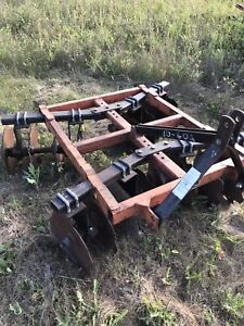 Discer and cultivator for acreage