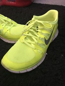 Nike Free size 13 for sale (Yellow/Green)