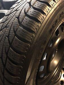 Bridgestone blizzak 215/65/R16 on black rims