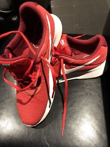 Men's Nike red shoes