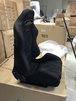 Recaro sr3 srd bucket seats reclining adjustable racing