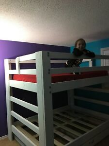 Custom built bunk/loft beds and tables