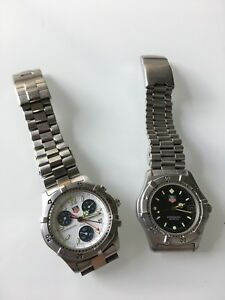 2x Tag Heuer Watches