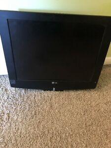 "20"" LG LCD flat screen w/ wall mount"
