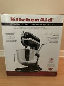 Kitchen aid mixer professional HD series