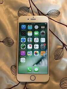 Rose gold I phone 6s