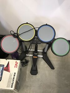 Game drums and foot pedal