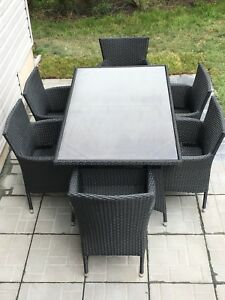 Outdoor 7 pc Dining Set