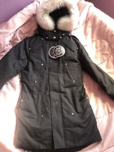 BRAND NEW MENS SMALL MOOSE KNUCKLE PARKA JACKET