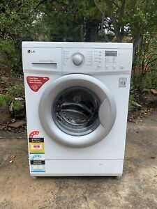 LG 7.5KG direct drive front load washing machine