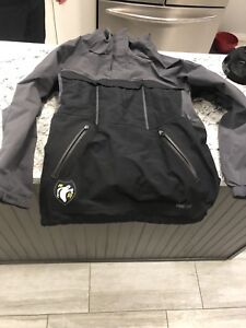 Men's Analog size large snowboarding pullover half zip  jacket
