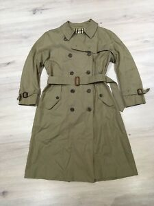 Women's vintage Burberry trench coat