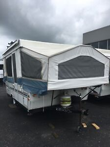 10' with cargo box tent trailer trade for sport bike