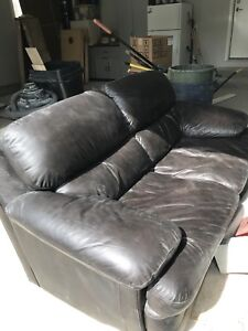 Leather Loveseat /Sofa / Couch