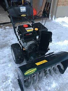 "30"" MTD Yardworks snowblower"