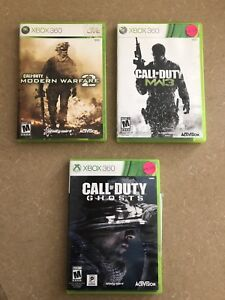 Call of Duty Games for Xbox 360
