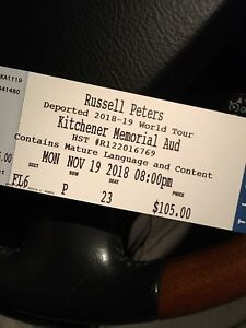 Russell Peters @ the AUD