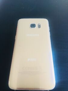 Selling off samsung S7 edge Gold