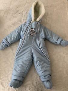 Infant warm snowsuit size 12-24