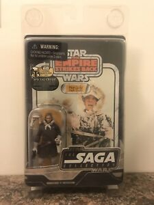 Star Wars Vintage Sage Collection Hoth Han Solo Figure