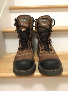 Royer metal-free work boots - 8 mens