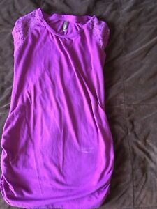 Thyme maternity tops and dress size small