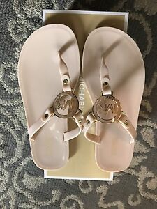 Ladies pink Michael kors sandals