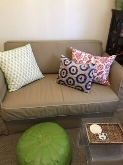 Spotless loveseat sofabed