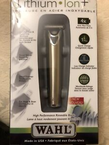 WAHL Lithium Ion Trimmer (silver)