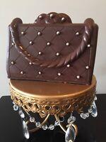Chocolate handbag, chocolate purse