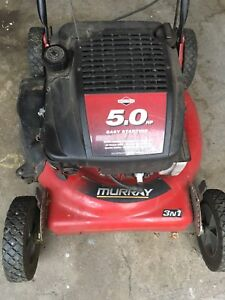 5 HP lawn mower not working but good condition