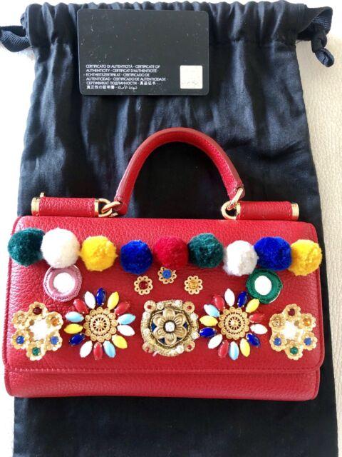 Dolce Gabbana Crystal Carretto POM POM VON bag   Bags   Gumtree ... 61ae6ea45f