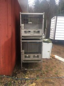 Professional dog or pet kennels/breeding cages