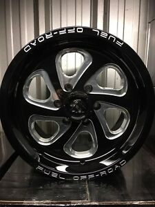 "Ford F-150 17"" Fuel Flow Gloss Black/Milled Alloy Rims!!!!"