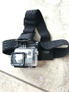 Go Pro waterproof case and Head Mount