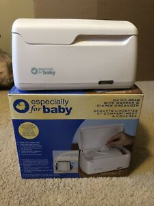 Baby Wipes Warmer with Diaper Organizers